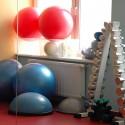 Miestnosť na cvičenie s vlastným telom