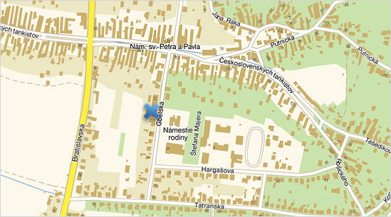 Fitness Lochness Mapa