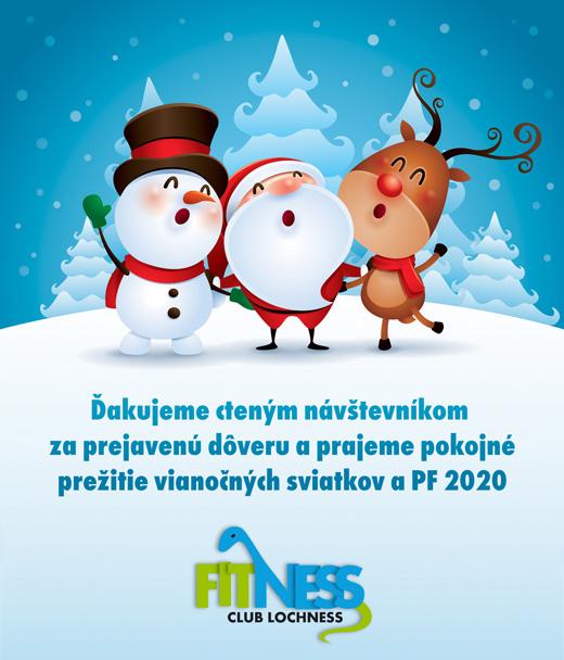 Ďakujeme cteným návštevníkom za prejavenú dôveru a prajeme pokojné prežitie vianočných sviatkov a PF 2020.